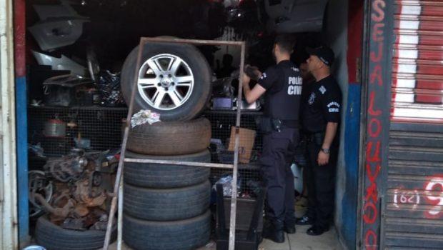 Dez são presos por furtar e arrombar veículos em Goiânia e no interior
