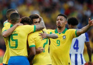 Brasil e Paraguai abrem as quartas de final da Copa América nesta quinta (27)