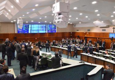 Alego aprova reeleição de presidente da casa em primeira votação