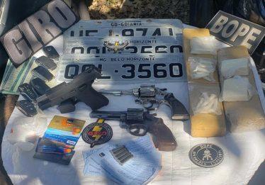 Confronto com Bope e Giro deixa três suspeitos mortos em Goiânia
