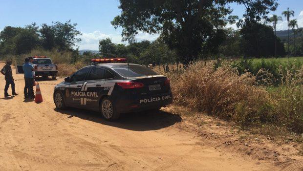 Três são presos e menor é apreendida suspeitos de matar taxista, em São Luis dos Montes Belos