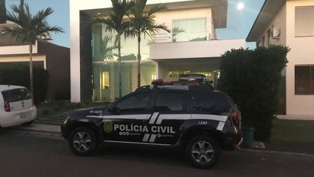 Operação da PC prende empresário em condomínio de luxo de Goiânia