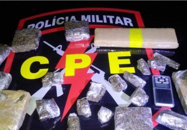 Três são presos por tráfico de drogas, no Recanto do Sol, em Anápolis