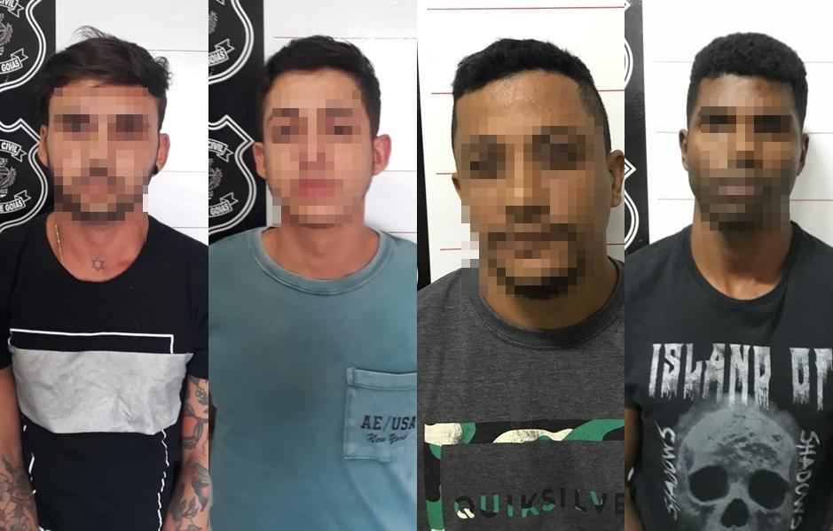 """Quadrilha é presa aplicando golpe """"Bença Tia"""" em Aparecida de Goiânia"""