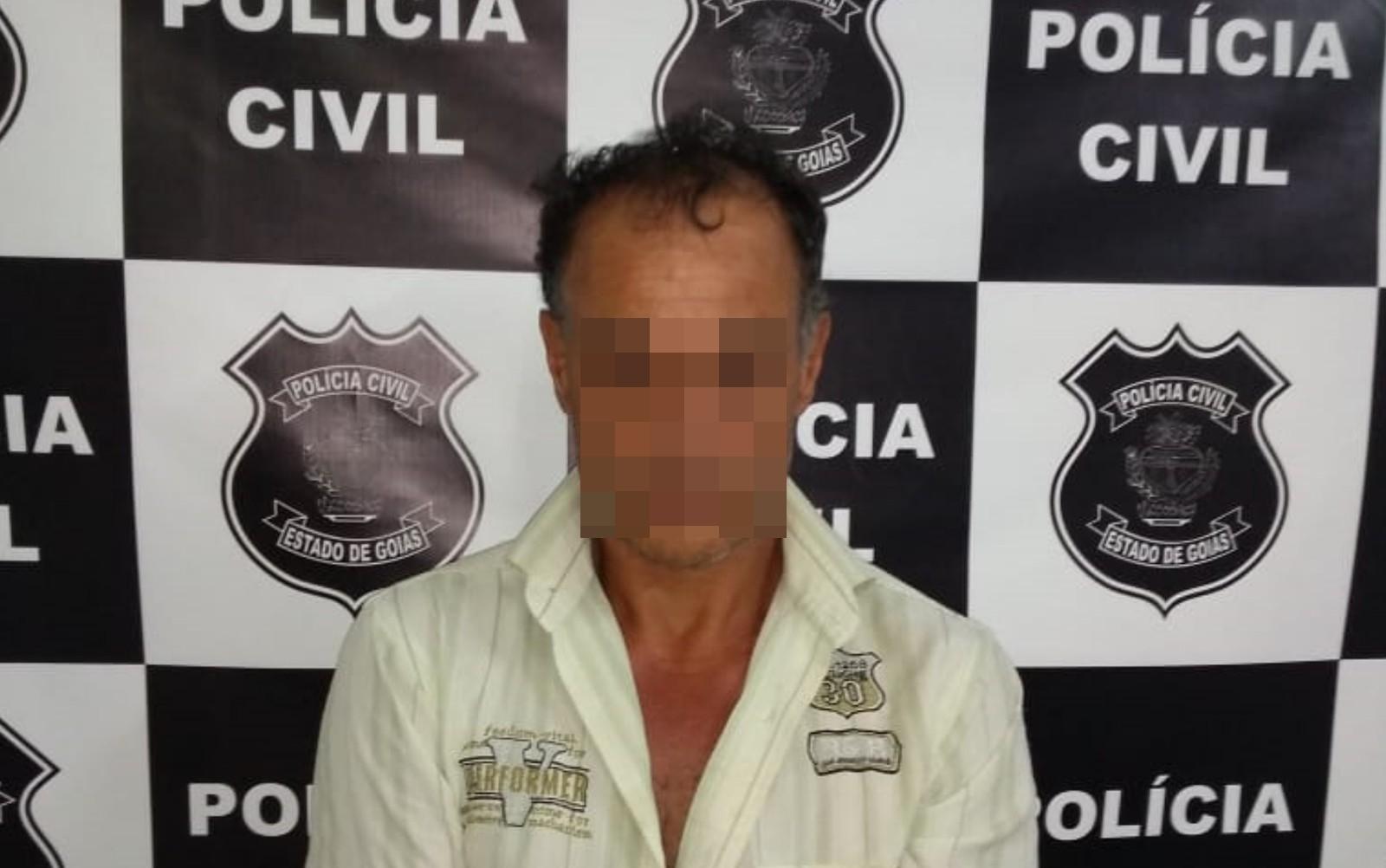 Homem é suspeito de matar a mãe e enterrar o corpo (Foto: Divulgação/Polícia Civil)