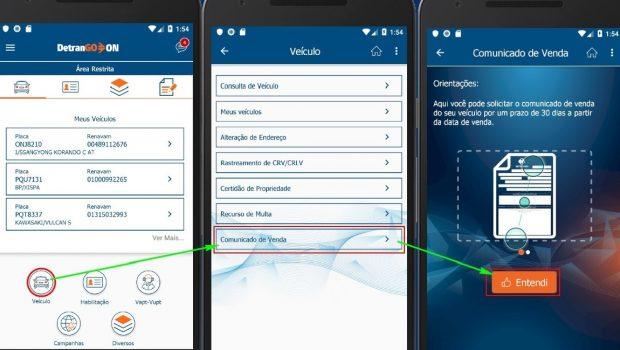 Aplicativo do Detran é atualizado e oferece novos serviços aos usuários