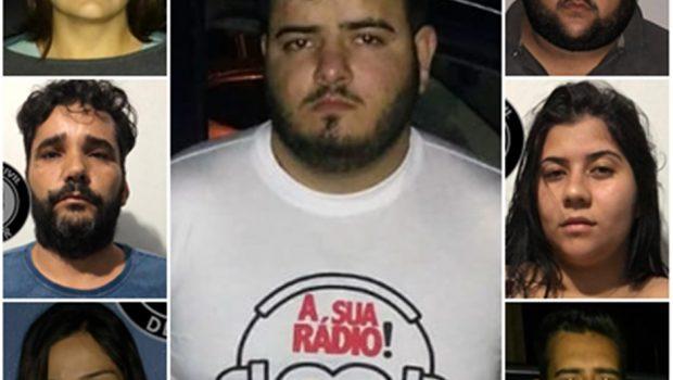 Oito são presos após roubo de carga avaliada em R$400 mil, em Cezarina