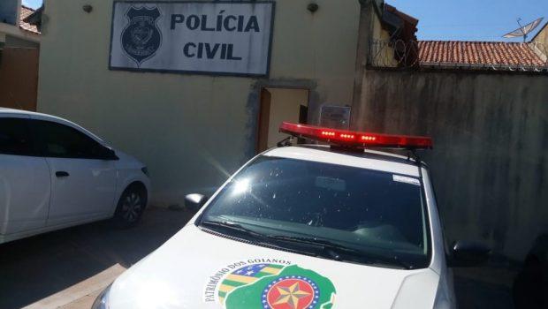 Preso suspeito de matar pai com golpes de canivete, em Itarumã