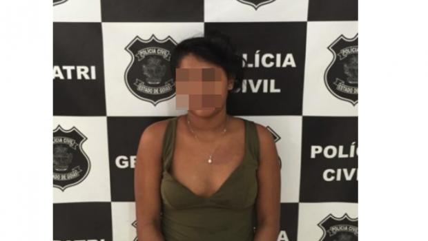 Mulher é presa e menor é apreendido por tráfico e receptação, em Itumbiara
