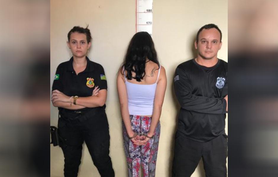 Mulher é presa tentando entrar com maconha e crack em Unidade Prisional de Ipameri