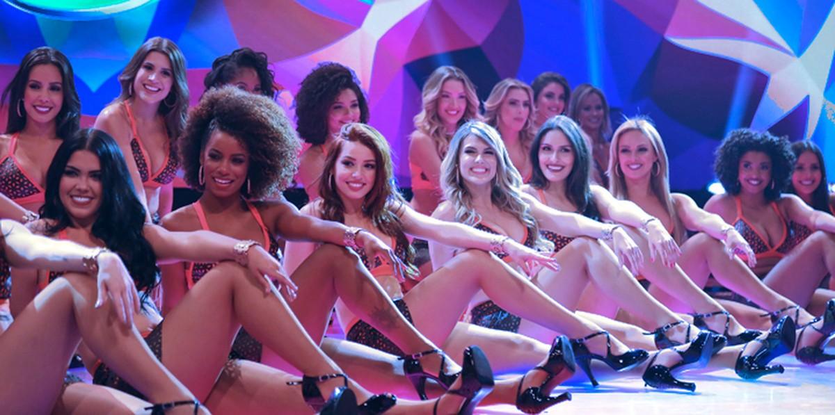 Bailarinas do Domingão do Faustão