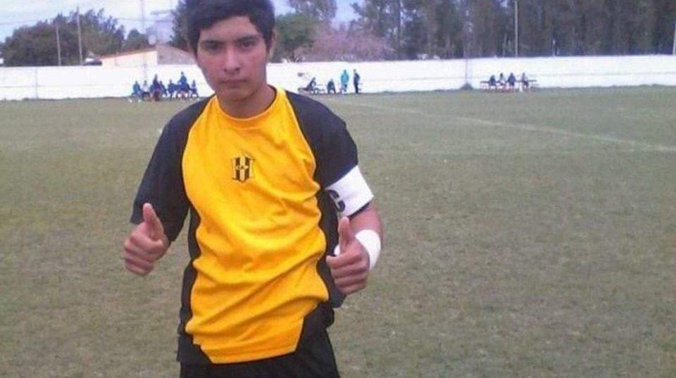 Ramón Ismael Coronel chegou a ser levado ao hospital mas não resistiu (Foto: Reprodução)