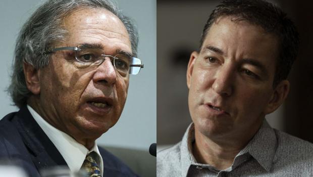 Guedes nega ter ordenado investigação sobre Glenn Greenwald