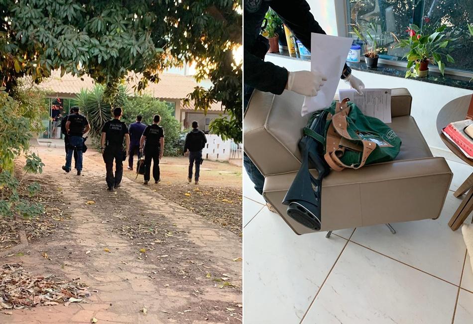 Mandados foram cumpridos com apoio da Polícia Civil