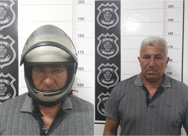 Dos 50 possíveis crimes, 22 estupros tem comprovações periciais, realizadas por exames de DNA; Segundo a PC, suspeito nunca tirava o capacete (Foto: divulgação/PC)