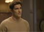 Em 'A Dona do Pedaço', Régis (Reynaldo Gianecchini) diz a Maria da Paz (Juliana Paes) que vai refazer teste de DNA: 'Se for pai do Artur, vou assumir' — (Foto: TV Globo)