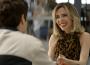 Lyris (Deborah Evellyn) e Leandro (Guilherme Leicam) se tornam amigos, em 'A Dona do Pedaço' — (Foto: TV Globo)