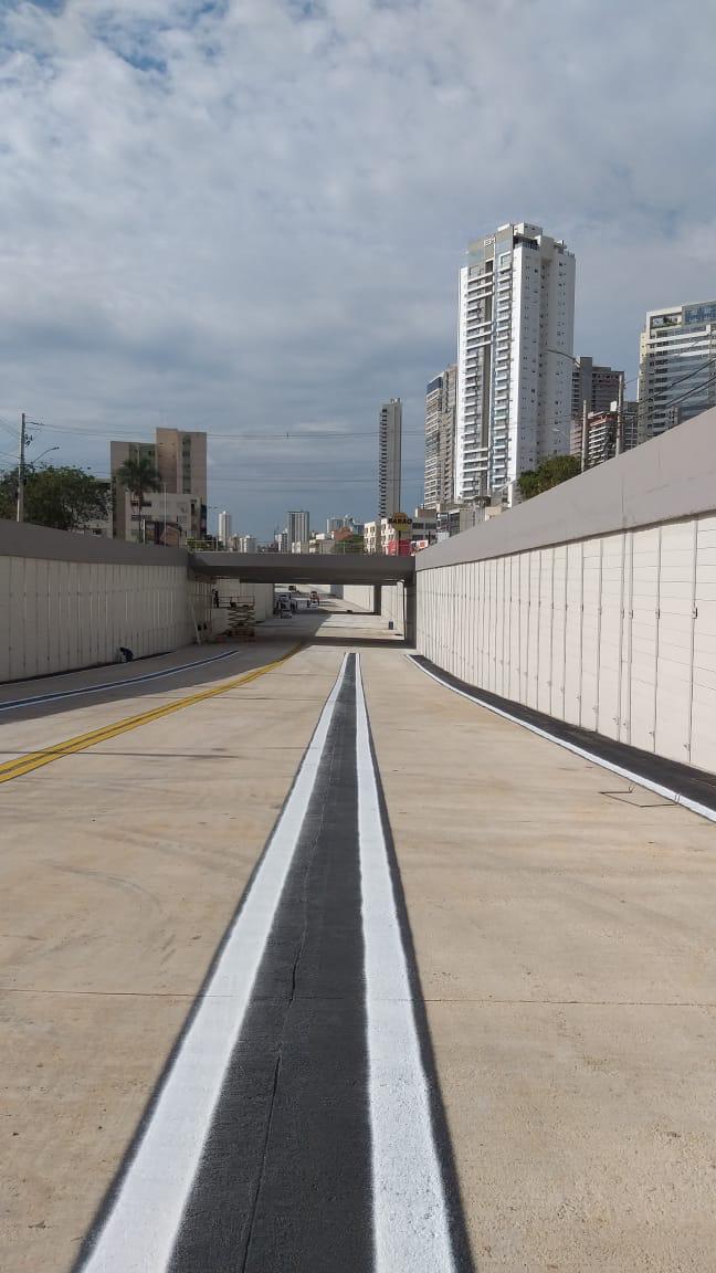 Obras do viaduto da Rua 90 são finalizadas
