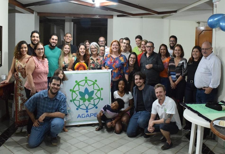 Familias beneficiadas pela Agape (Foto: Agape/ Divulgação)