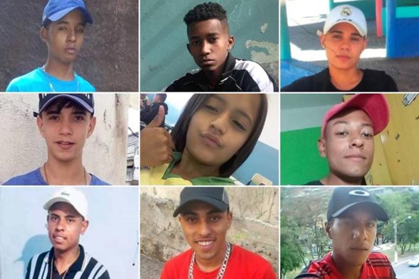 Manifestantes fazem ato contra as nove mortes dos jovens de Paraisópolis, em SP