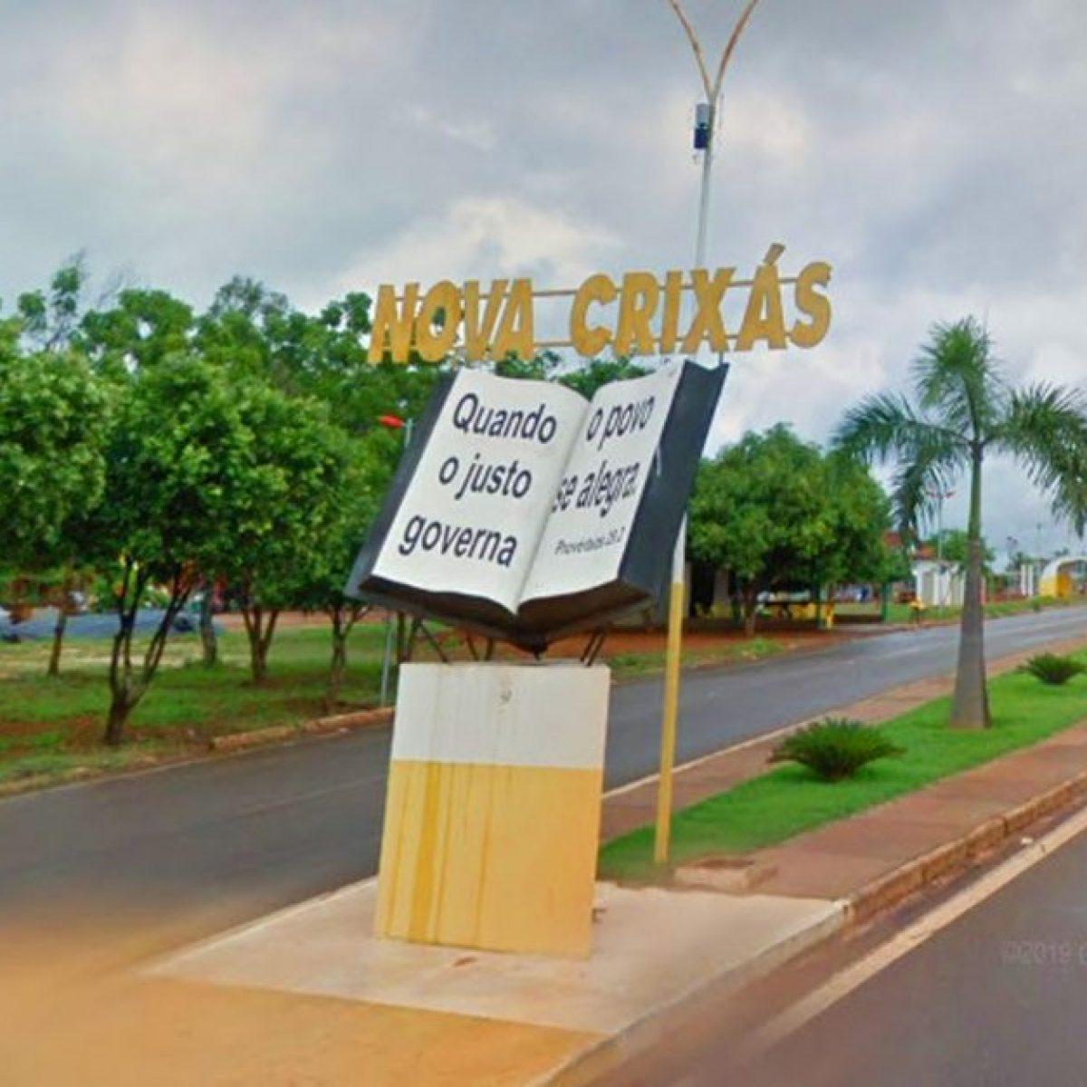 Nova Crixás Goiás fonte: www.emaisgoias.com.br