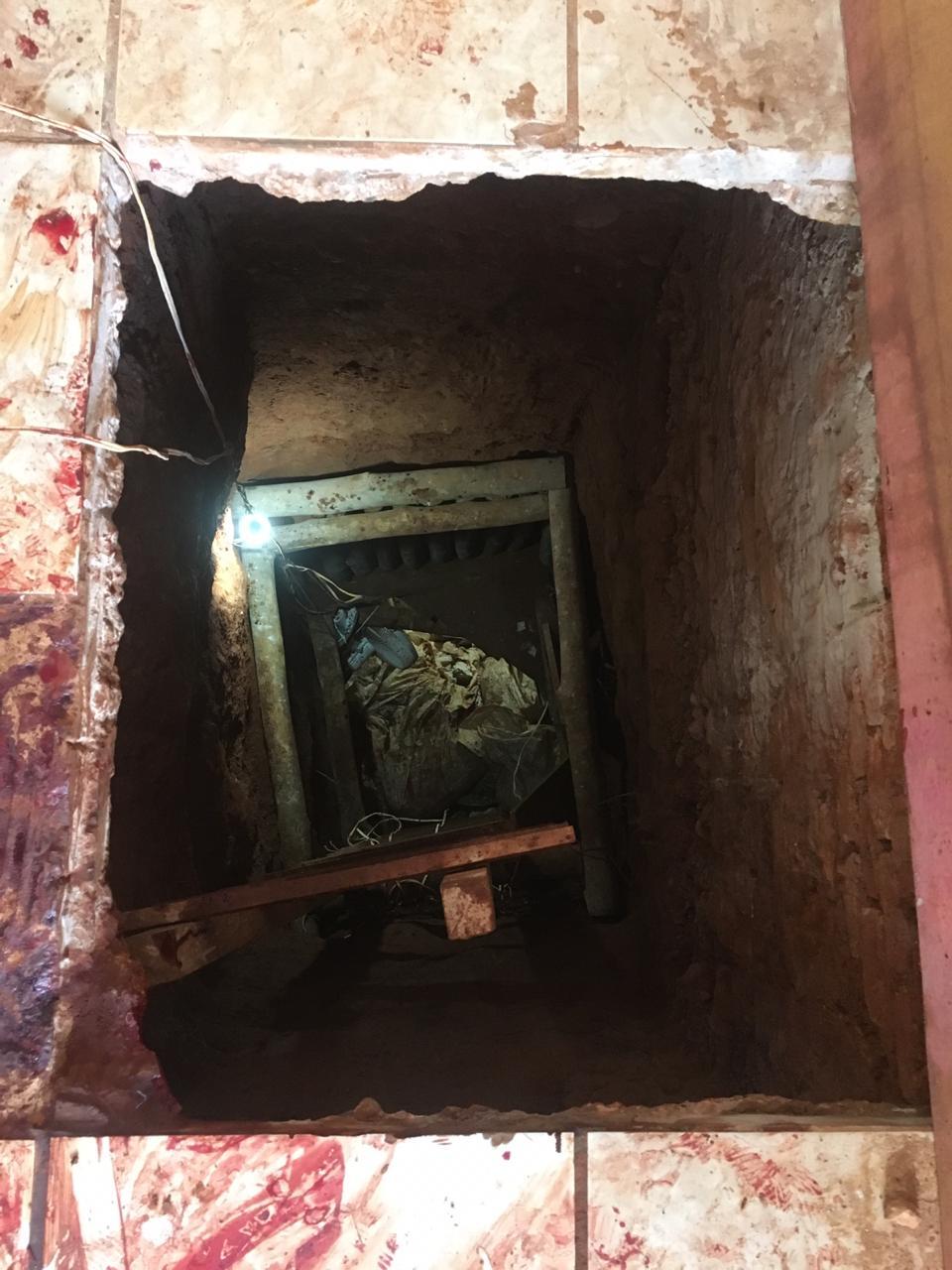 Túnel entre casa e presídio de Mineiros é descoberto e quatro morrem após ação policial
