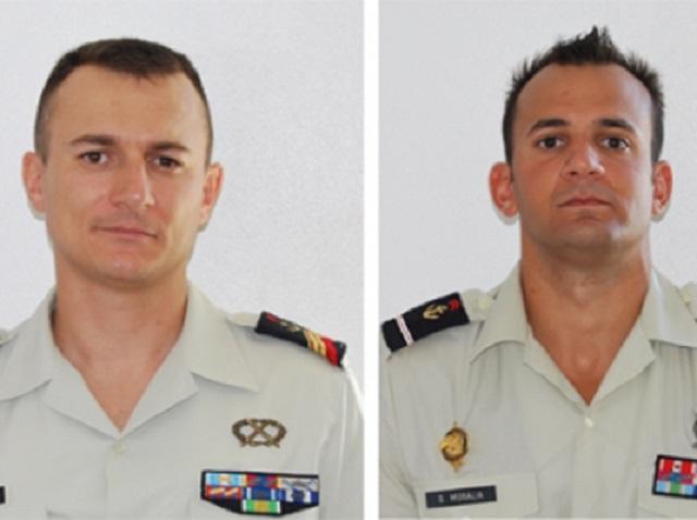 Oficiais das Forças Armadas Francesas mortos em emboscada armada pelo bando de Manoelzinho. Foto: Divulgação