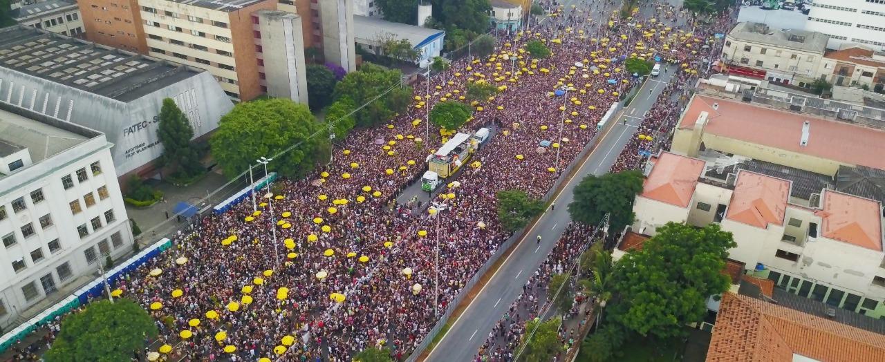 Gloria Groove Bloco das Gloriosas Carnaval São Paulo