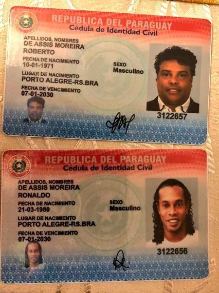Ronaldinho Gaúcho é detido no Paraguai e presta depoimento à Polícia