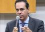 Vereador Wellington Peixoto (DEM), líder do prefeito Iris Rezende (MDB) na Câmara Municipal. (Foto: Câmara Municipal de Goiânia)