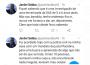 Posts do ex-prefeito Jardel Sebba no Twitter (Foto: Reprodução)