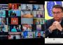 Presidente Bolsonaro em videoconferência com governadores. Foto: Felipe Dalla