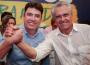 Ex-secretário Wilder Morais e o governador Ronaldo Caiado (Foto: Divulgação)