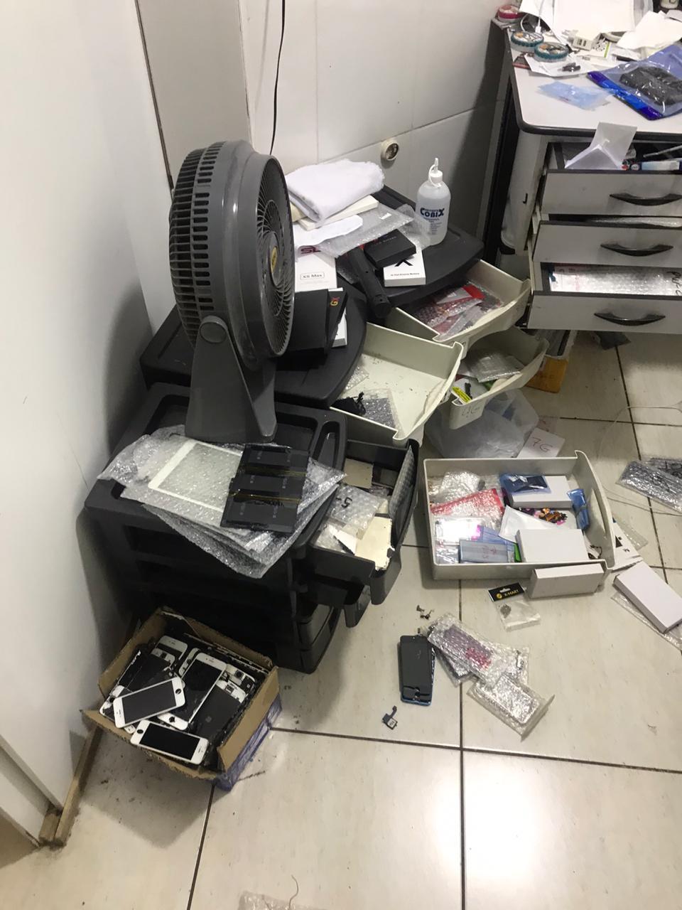Comerciante reclama de furto em lojas da região da Rua 90