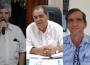 Tércio Menezes, Rogério Troncoso e André Luiz (Fotos: Reprodução)