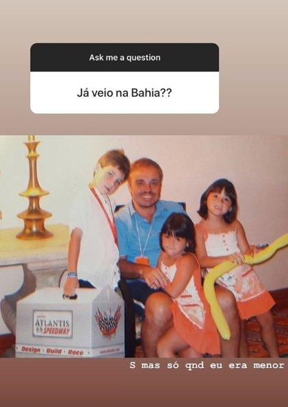 Filha de Gugu compartilha foto com o pai em texto emocionante