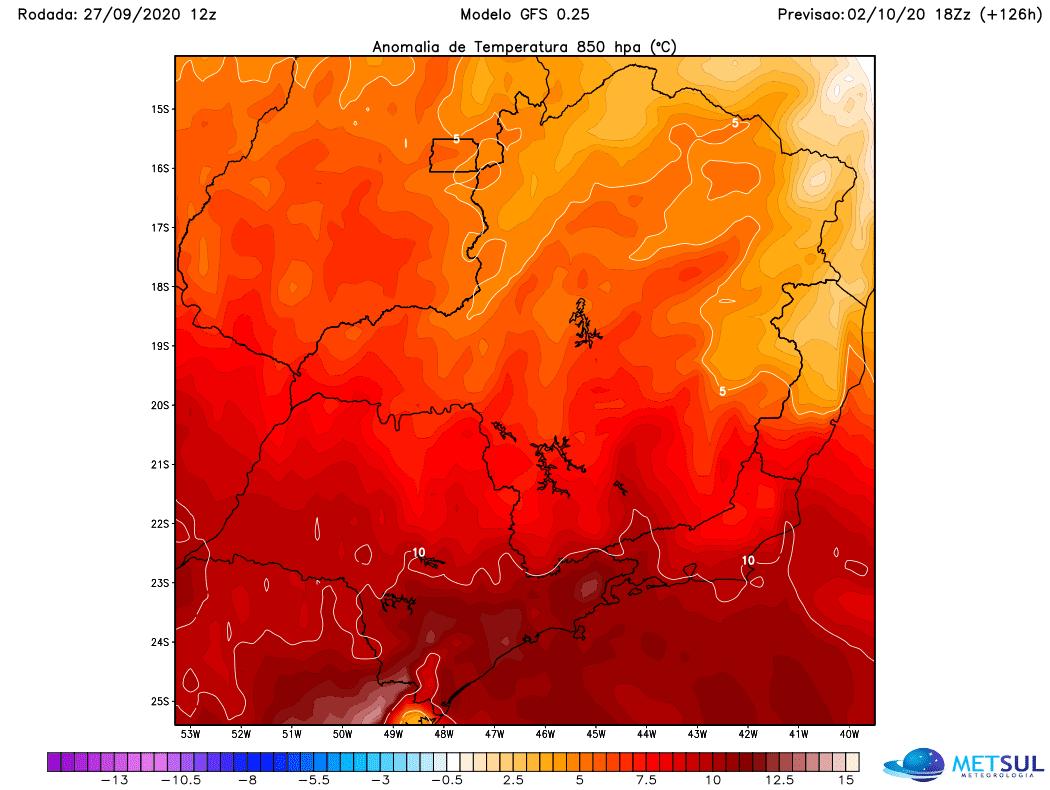 Goiás será atingido por onda de calor histórica entre quarta e sexta-feira
