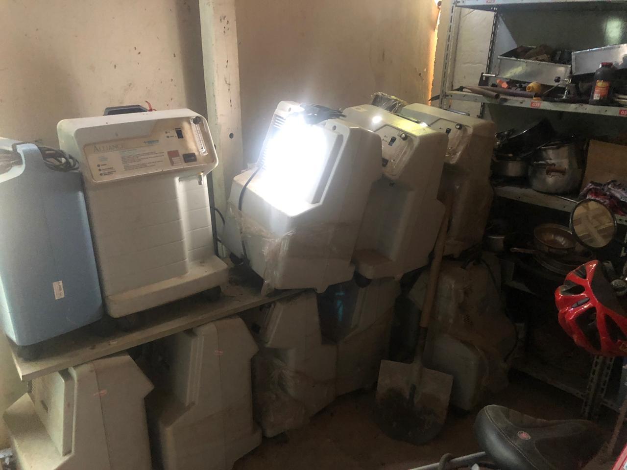 Equipamentos hospitalares furtados são recuperados em Aparecida