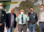 Prefeito Iris Rezende ao lado de deputados estaduais e vereador do MDB (Foto: Reprodução)