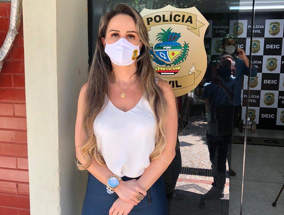 O homem suspeito de ameaçar a deputada estadual Adriana Accorsi (PT) por meio de um perfil falso no Instagram nunca esteve em Goiânia. (Foto: Aulus Rincon/Mais Goiás)