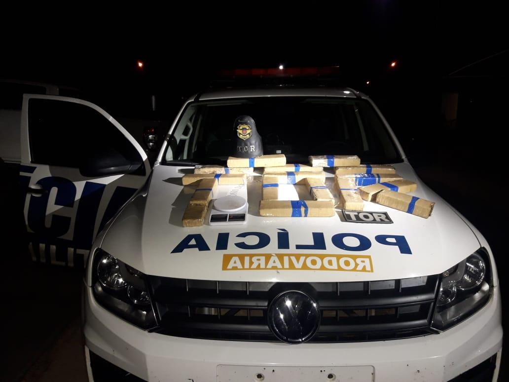 PM apreende quase 50 kg de maconha e quatro são presos por tráfico em Goiânia
