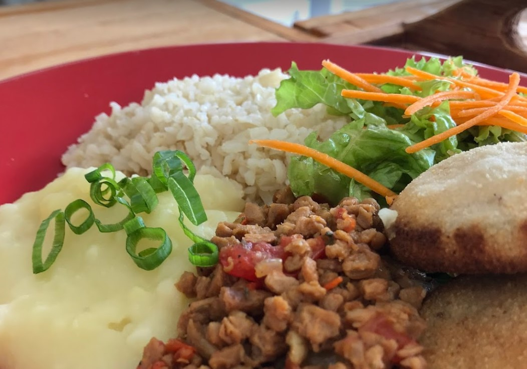 comida vegana e vegetariana em Goiânia