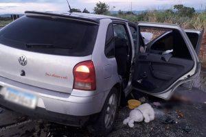 Acidente deixa duas pessoas mortas e quatro feridas na BR-020, em Formosa