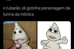 Tubarão com cara 'humana' é comparado ao Zé Gotinha; veja os memes