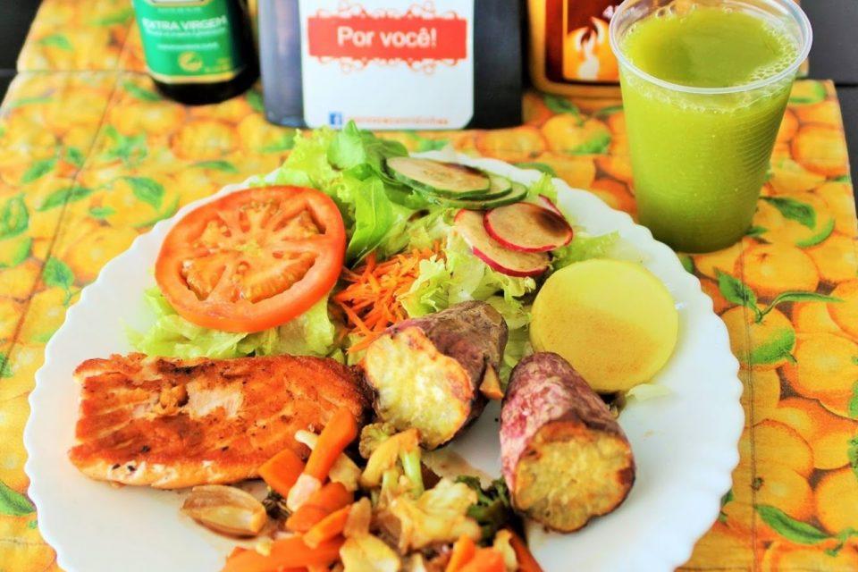 comida saudável em Goiânia