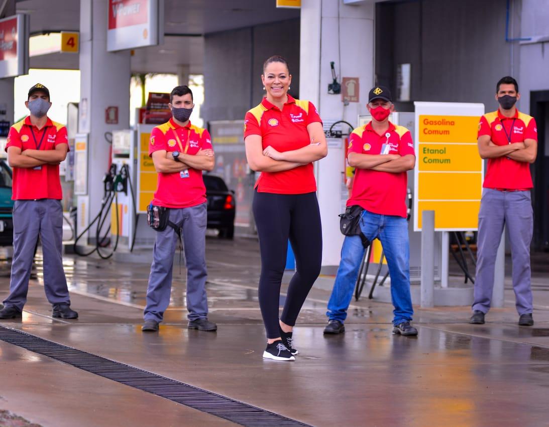 Aritana Parreira, coordenadora de treinamento para Frentistas do Grupo Kurujão (Foto: Jucimar de Sousa/Mais Goiás)
