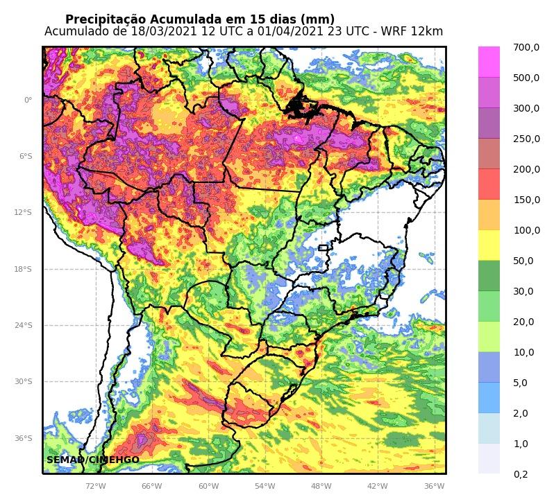 Goiânia registra 256 mm de chuva em março, mas precipitação ainda é baixa