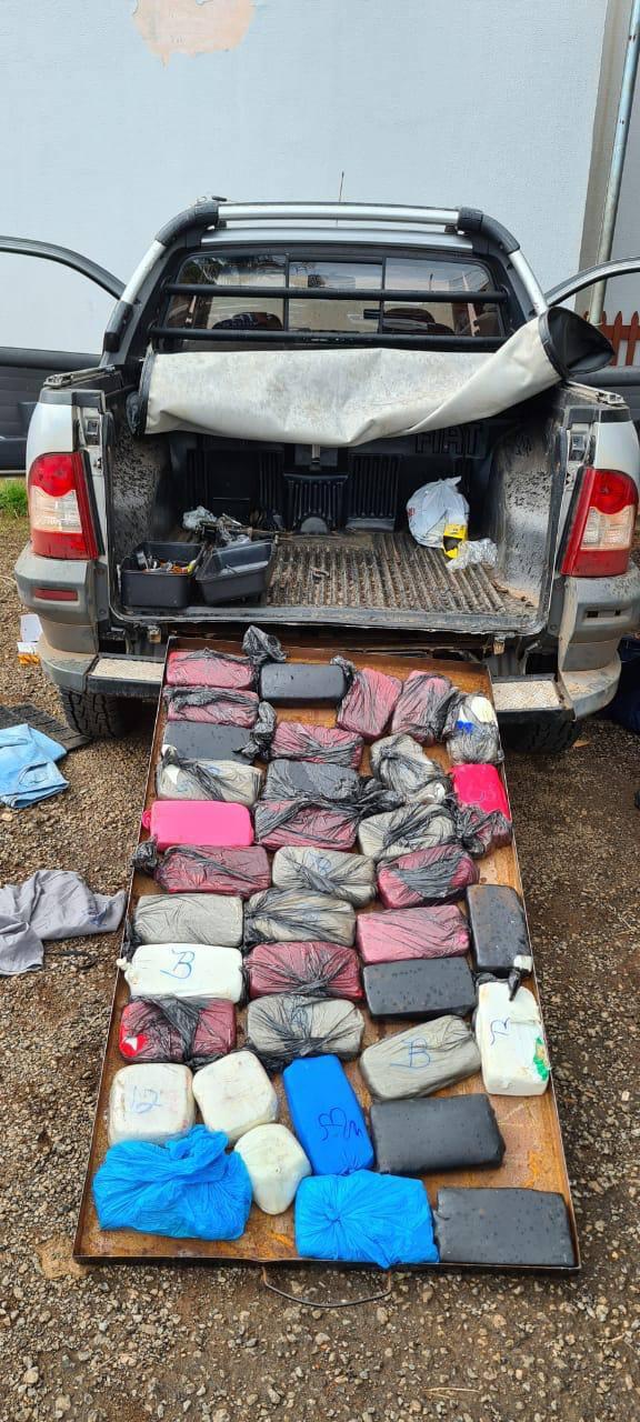 Carga com cocaína pura, avaliada em quase R$ 7 milhões, é apreendida em Guapó